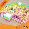 Soft Play en plastique à l'intérieur de l'équipement de terrain de jeux Kids Naughty Château