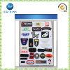 Etiqueta modificada para requisitos particulares alta calidad de la ropa del PVC (JP-PL001)
