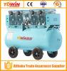 alto compresor de aire de Oilless del flujo de 3000W 120L