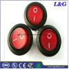 ENEC/UL/ CQC Blcak Rodada Empurre o interruptor oscilante de Micro para máquina de café