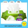 Guardanapo molhado delicadamente de limpeza FDA do bebê aprovado (BW052)