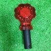 Luz do estroboscópio com o diodo emissor de luz brilhante do vermelho