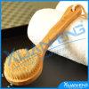 Baño de bambú del cepillo con el amortiguador de plástico