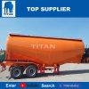 Titan de cemento de 3 ejes del vehículo camión remolque a la venta Cbm 40