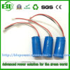 3.7V 700mAh Cylindrical Li-ion 16340 Battery Pack for Wireless Alarm System, Electronic Telescope