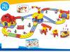 Niños divertidos con pilas de la pista del tren conjunto de juguete (H1436092)