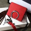 Het nieuwste Stuk van de Handtassen van het Leer van Dames Echte Enige (EMG4456)