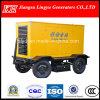 100kw, remolque móvil, motor de arranque eléctrico, China / generador diesel, / precio de fábrica, Ly-28gf