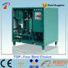 Высокое разрежение при низкой температуре масло фильтрации машины с помощью дизельного двигателя Cummins генератор (ZYD-100)