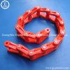 La boîte de vitesses flexible lourde de matière plastique acétalique du moulage par injection d'industrie POM-C Derlin transportent la chaîne de lame