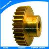 Caja de cambios de hardware de latón mecanizado CNC Piezas del engranaje de transmisión