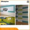 Beschaffenheits-Kultur-Wand-Aufkleber des Ziegelstein-3D, PET Schaumgummi-wasserdichte Tapete,