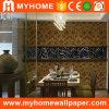 Papel de parede de veludo de design elegante Wallcovering de superfície macia