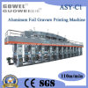 Ordinateur Control Rotogravure Printing Machine avec Aluminum Foil et Paper