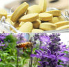 Aliments pour la santé, Top, 100% Natural Lavender Been Pollen Chewable Tablets, Pure Natural Breast Enhancement Food
