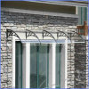 Fuerte a prueba de agua materiales de aluminio ventana de la puerta del pabellón