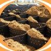 Materiais de Construção de Plástico Preto de HDPE