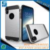 iPhone x를 위한 고전적인 솔 공단 이동 전화 부속 변호인 예