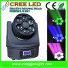 6X15W Rotating Bee Eye LED Moving Head für Disco