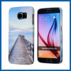 Задняя сторона обложки случая деревянного моста трудная для галактики S6 Samsung