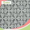 Tela africana del cordón del algodón blanco del diseño de la manera
