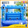 Blauer Clown-aufblasbarer Schloss-Prahler (AQ514-2)