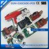 Pistola a spruzzo manuale del rivestimento della polvere di Galin Gl1-D-1r+Cascade+PCB