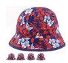 Novo design vermelho de algodão /Branco/Balde de tinta HAT