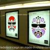 Châssis d'Affiches Panneaux LED Design magnétique Boîte à lumière de la publicité afficher