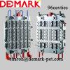 Demark 최신 주자 애완 동물 예비적 형성품 형, 96 Cavties 플라스틱 병 예비적 형성품 형