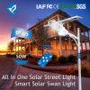 Lampada solare della strada di serie 50W LED del cigno della fabbrica