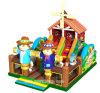 Neue Entwurfs-Bauernhof-Thema-aufblasbare Vergnügungspark-Spaß-Stadt-aufblasbarer Spielplatz