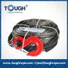黒く総合的なウィンチロープか黒い安全指ぬきIIのパッケージ- 3/8  X100FT