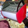 Ice Lolly Stick Showcase/Gelato Exibir Freezer/Sorvete Vitrine refrigerado
