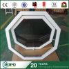 Les fenêtres de finition en PVC de haute qualité avec teinte en bois