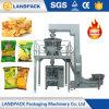 감자 칩 포장기를 투약하는 조합 Weighter
