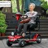 Minusválidos nuevo Scooter inteligente de las cuatro ruedas Scooter de movilidad de plegado de viaje portátil