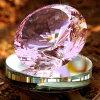De roze Diamant van het Kristal van het Kwarts voor de Giften van de Herinnering van de Partij van de Gift van de Verjaardag en van het Huwelijk