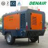compresseur d'air mobile mobile diesel de la vis 20bar pour le concasseur de pierres