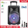 2017 novas chegadas Piscina grande potência portátil Carrinho Recarregável Colunas Bluetooth F12-07