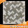 2018 новый дизайн рисунком елочкой газа мозаика стеклянной мозаики из камня и кирпича (M424003)