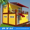 Luxuxflachgehäuse-Behälter-Haus Vor-Bildete China-Lieferanten