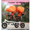 Tricycle se pliant facile de jumeaux de gosses à vendre avec le type neuf