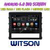 Witson gran pantalla de 10,2 de Android 6.0 alquiler de DVD para Toyota Landcruiser 2016