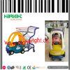 Supermarkt-Kind-Baby-Spaziergänger scherzt Einkaufen-Laufkatze