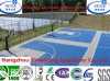 High Utilize Ratio PP en plastique Roll Floor pour Outdoor Sport Flooring