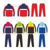 Полный Zip Спортивные куртки и брюки Tracksuit для прогрева