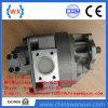 Wa450-3, Wa470-3 pompe hydraulique, pompe à engrenages, Assy de pompe, 705-52-40130, 705-52-40150