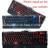 Gmaingのワイヤーで縛られたキーボード、明るいキーボード、USBのラップトップ、バックライトを当てられたKeboardのワイヤーで縛られたキーボード