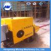 Pompe concrète de bas de page hydraulique de moteur électrique/moteur diesel